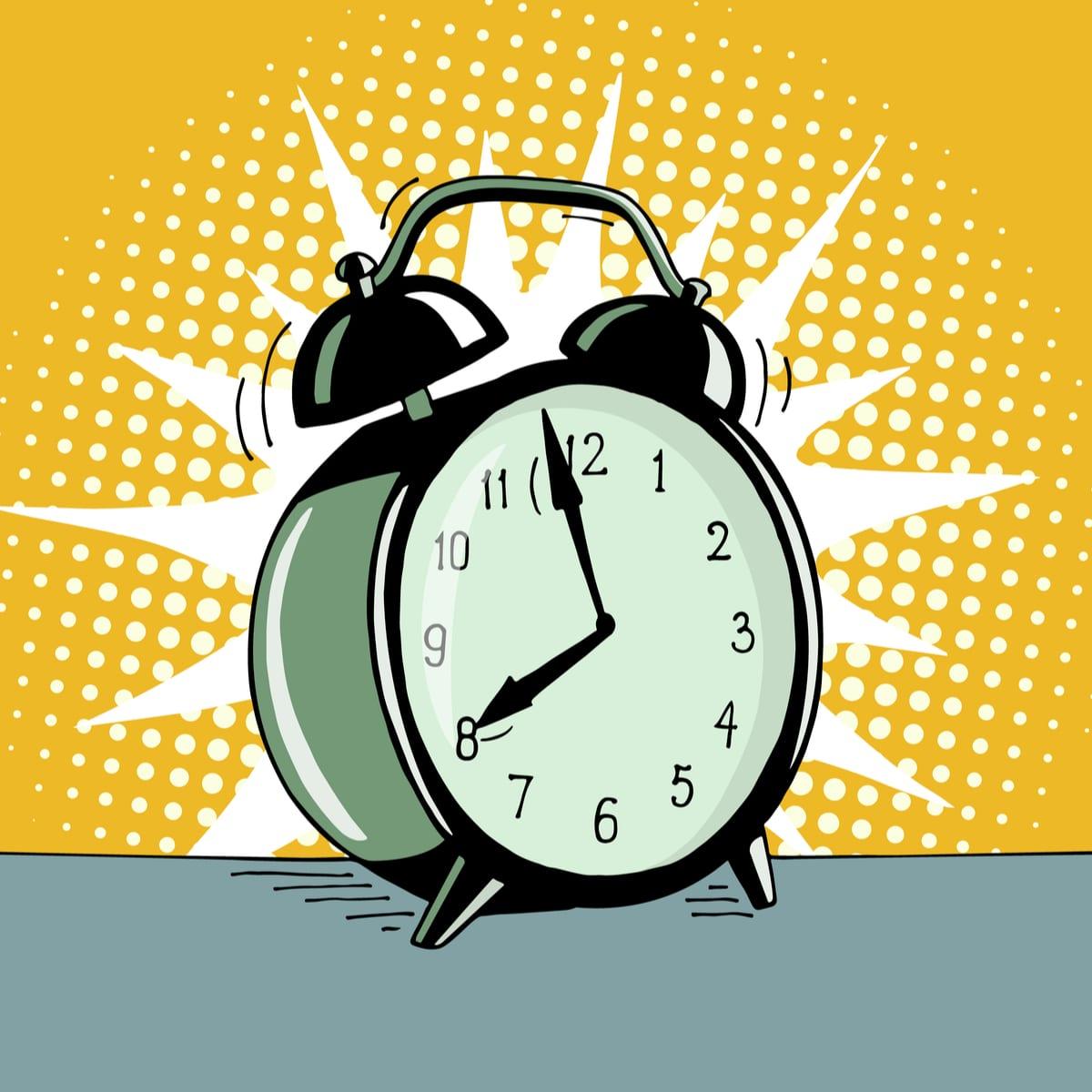 clock busy schedule
