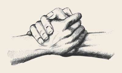hand to help others