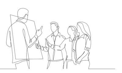 startup team thinking