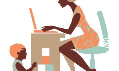 parent entering the workforce