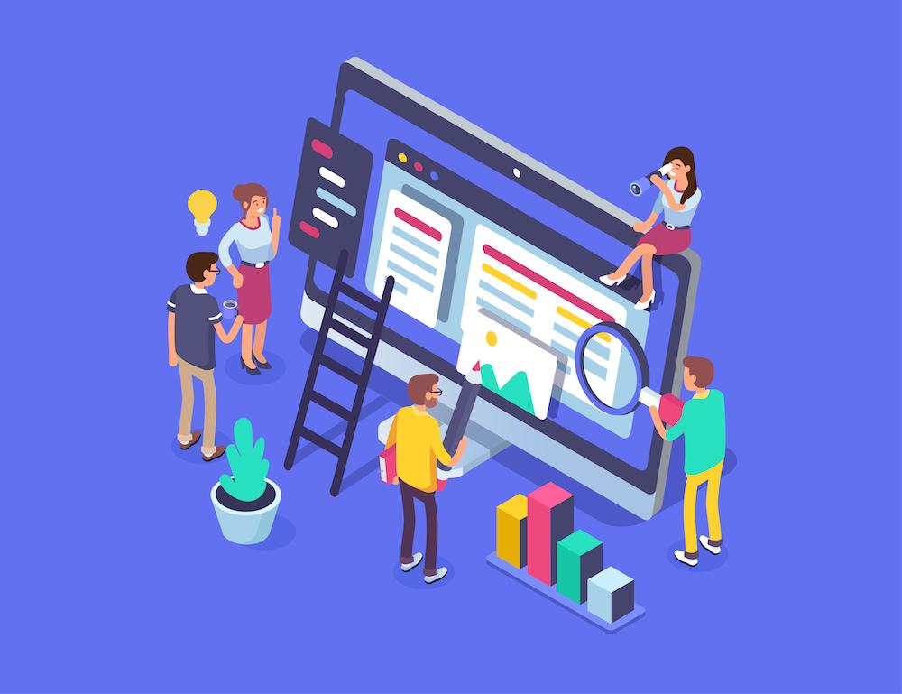 Startup team online meetings