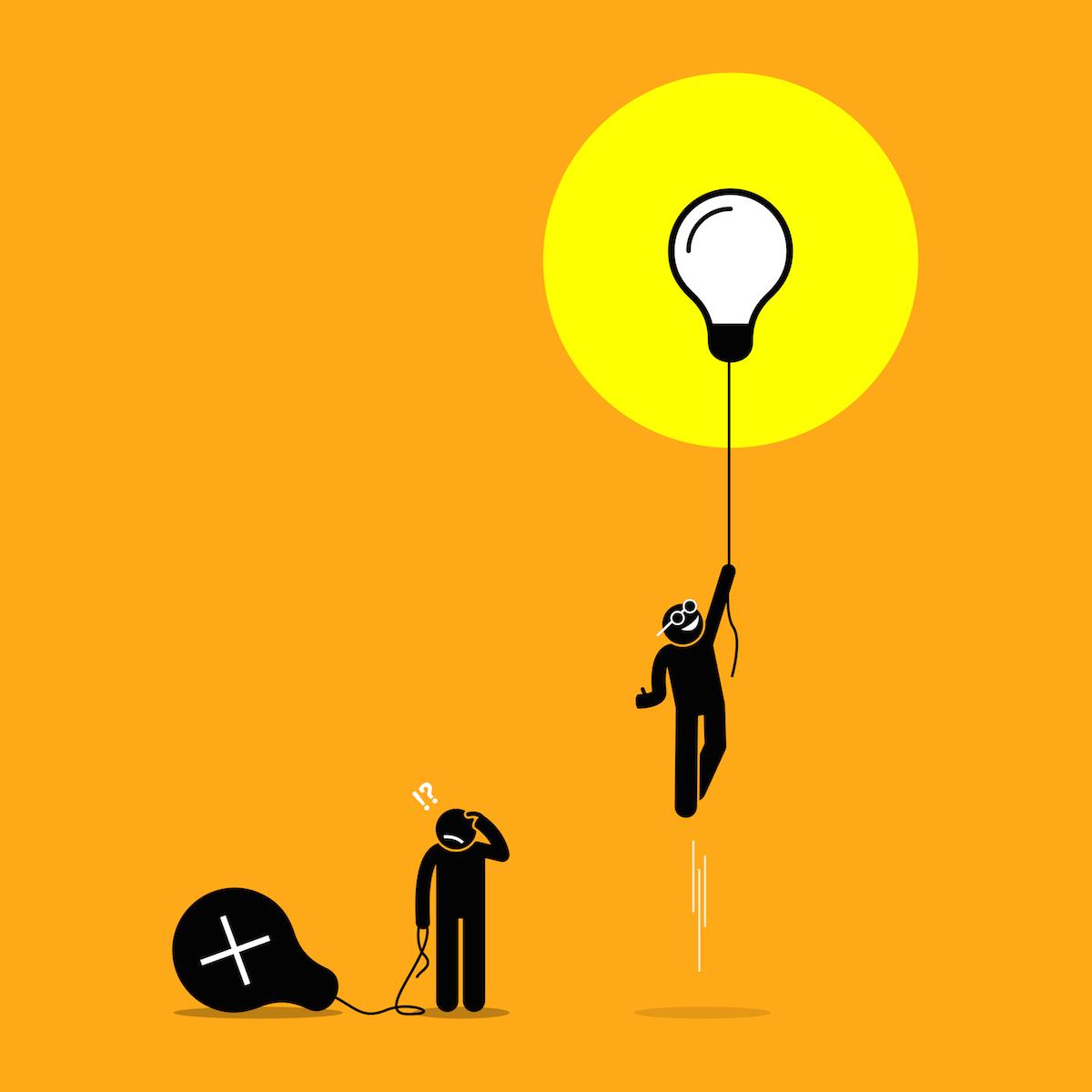 Business idea failure vs. success