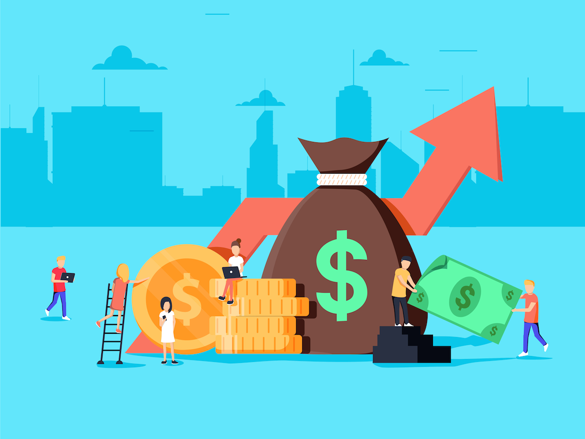 Startup fundraising growth