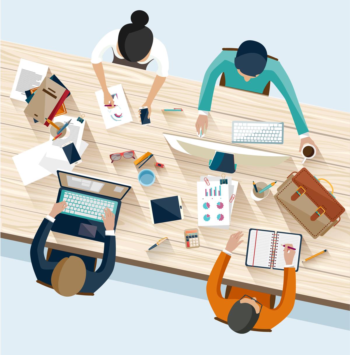 weekly team meeting